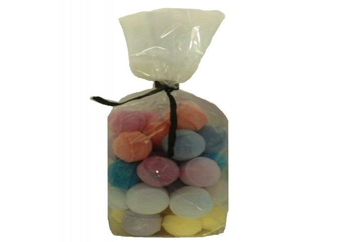 30 X Random Scented Marbles Fizzers Mini Bath Bombs 10g Opp Bag Packing